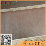 18mm Okoume das Furnier-Blatt stellte Pappel-Kern Blockboard gegenüber