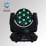 Rasha 세륨 Karaoke DJ 클럽 당을%s 5pins DMX 포트를 가진 승인되는 최신 판매 36*3W 4in1 RGBW LED 이동하는 맨 위 광속 빛