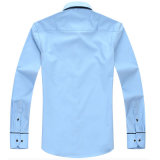 Самого последнего хлопка хлопка супер официально кнопки рубашка Mens вниз