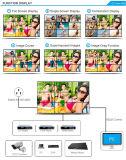 Узкая стена дюйма СИД LCD шатона 55 видео- с высоким качеством (MW-553VAC)