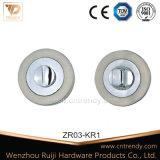 Haute qualité, de zinc européenne Écusson Écusson de serrure de porte (ZR03-KR1)