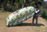 スリープの状態である不精な袋のソファーのお手玉の膨脹可能な空気豆袋の椅子(L067)
