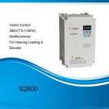 Mecanismo impulsor de velocidad variable de la serie S2800 (VSD) para el cargamento pesado del CNC