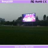 P6 alto contraste SMD al aire libre LED que hace publicidad de la muestra de la cartelera LED de la tarjeta LED