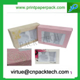 De buitensporige Kosmetische Dozen van pvc van het Ontwerp van het Pakket Duidelijke Plastic