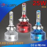 25W faro automatico di alto potere LED per il Ce 4WD dell'automobile 9006