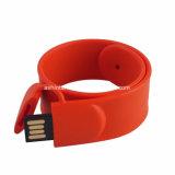 Stok USB van de Aandrijving van de Flits USB van het Geheugen van de manchet USB de Mini Rubber