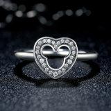 Anello d'argento 925 con MEDA libero di Zircon in anello della Cina