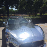 Chrome автомобильной краской серебристого цвета пигментов наружного зеркала заднего вида порошок