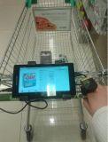 Большие расстояния беспроводной портативный лазерный сканер POS штрих-кодов