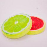 Het ronde Decoratieve Hoofdkussen van Confortable van de Katoenen Stijl van het Fruit