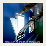 Scatola chiara di cristallo LED a sospensione del cavo per le finestre del salone