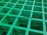 Drenar la cubierta, las rejas antirresbaladizas para la plataforma y las calzadas, reja de GRP/FRP