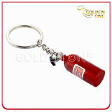 Moda Design Dois - Tone Terminated Tire Shape Metal Keyring