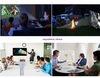 M6 brillo del androide 4.4 proyector micro portable elegante de 500 lúmenes