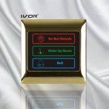 금속 개략 프레임 (SK dB2000SYS)에 있는 호텔 현관의 벨 시스템 접촉 위원회