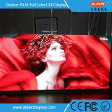 Píxel 4.81mm escenario al aire libre de publicidad en vallas LED Color
