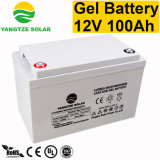 Première vente 12V batterie profonde de gel de cycle d'heure de 100 ampères