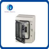 Schreibt transparenter Plastik IP66 Netzverteilungs-Kasten-Schalter-Kasten-Gehäuse