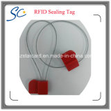Envase industrial de la etiqueta elegante del sello de RFID que sigue las etiquetas para el seguimiento del paquete