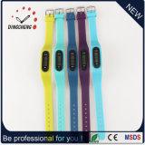 Vigilanza del silicone dell'orologio del pedometro delle vigilanze di modo (DC-002)
