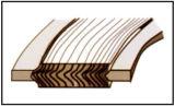 Garniture extérieure de blessure de spirale de remplissage de la boucle PTFE de CS intérieur de la boucle Ss304 avec la norme ASME16.20