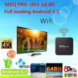 Cadre intelligent de S905 TV de cadre de Mxq du PRO faisceau androïde TV de quarte