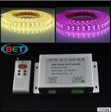Cambiable-Color ligero de la fila 120LEDs/Double del RGB 5050SMD LED con el regulador del LED