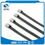 Câble enduit d'acier inoxydable des serres-câble 316 d'acier inoxydable de PVC solides solubles de plastique