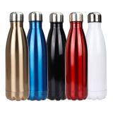 Frasco de coque de vácuo em aço inoxidável desportos ao ar livre dom de garrafas de água Custom