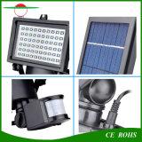 운동 측정기와 조정가능한 태양 전지판을%s 가진 옥외 방수 3W LED 플러드 빛 60LED 스포트라이트