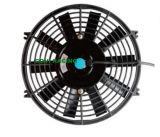 dünnes Kühler-elektrischer Ventilator-Kühlventilator-Allgemeinhinschwarzes des Auto-12inch