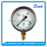 Normally Use Capsule gauge Stainless Steel type pressure gauge