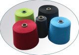 Farbige Polyester gesponnene Garne für das Spinnen
