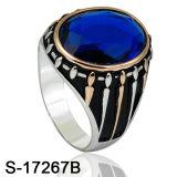 Nuovo argento 925 dell'anello dei monili di modo di disegno per l'uomo