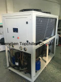 10kw-18kw (- 10C)ミルクの冷却プロセスのための空気によって冷却されるグリコールの水によって冷却されるスリラー