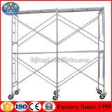 電流を通された鋼鉄Ladder/Hフレームの足場(1999年以来のフォーシャンの工場)