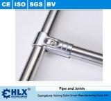Hlx Edelstahl-Rohr mit Edelstahl-Verbindern Hlx-PP008