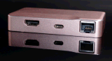 USB C con HDMI + Tipo C + Gigabit + 2 * USB3.0 Adaptador de puertos