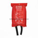 Couverture enduite d'incendie de soudure de fibres de verre de fibre de verre de PVC de Vermisulite de silicones