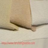 Tela de nylon del telar jacquar del poliester del rayón para la cortina de la capa de alineada