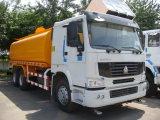 Camion de réservoir d'eau de Sinotruk 6X4 HOWO avec le réservoir du mètre cube 14-22