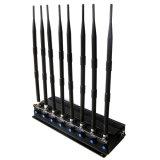 De regelbare Stoorzender 8 High-Power GPS/WiFi/315/433 van Antennes