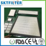 Diffirent Tapys de filtre de HEPA