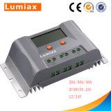 10A Contrôleur de charge solaire MPPT LCD avec port USB