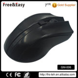 Multifunción negro ratón 2.4GHz Wireless