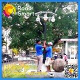 Lampe solaire Integrated extérieure de jardin de rue de DEL avec le panneau solaire