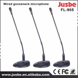 FL-905 Conferencia Microphoen sitio de la tabla de escritorio con conexión de cable del micrófono de cuello de cisne