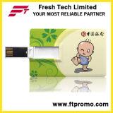 Carte mémoire en forme de carte mémoire USB avec logo