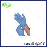 9 дюймов высокая эластичность чистого хирургических нитриловые перчатки белого цвета